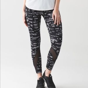 Lululemon Run Inspire Crop II Size 4